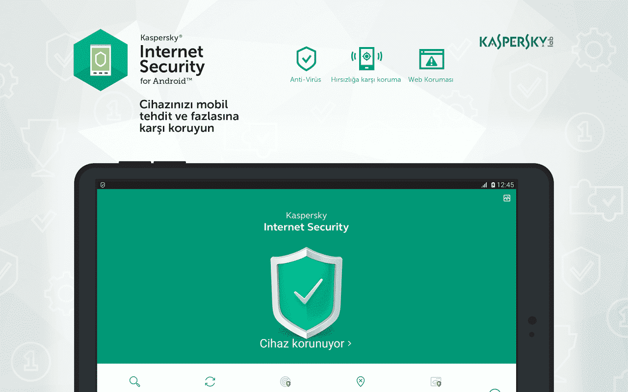 Kaspersky İnternet Security for Android Lisans