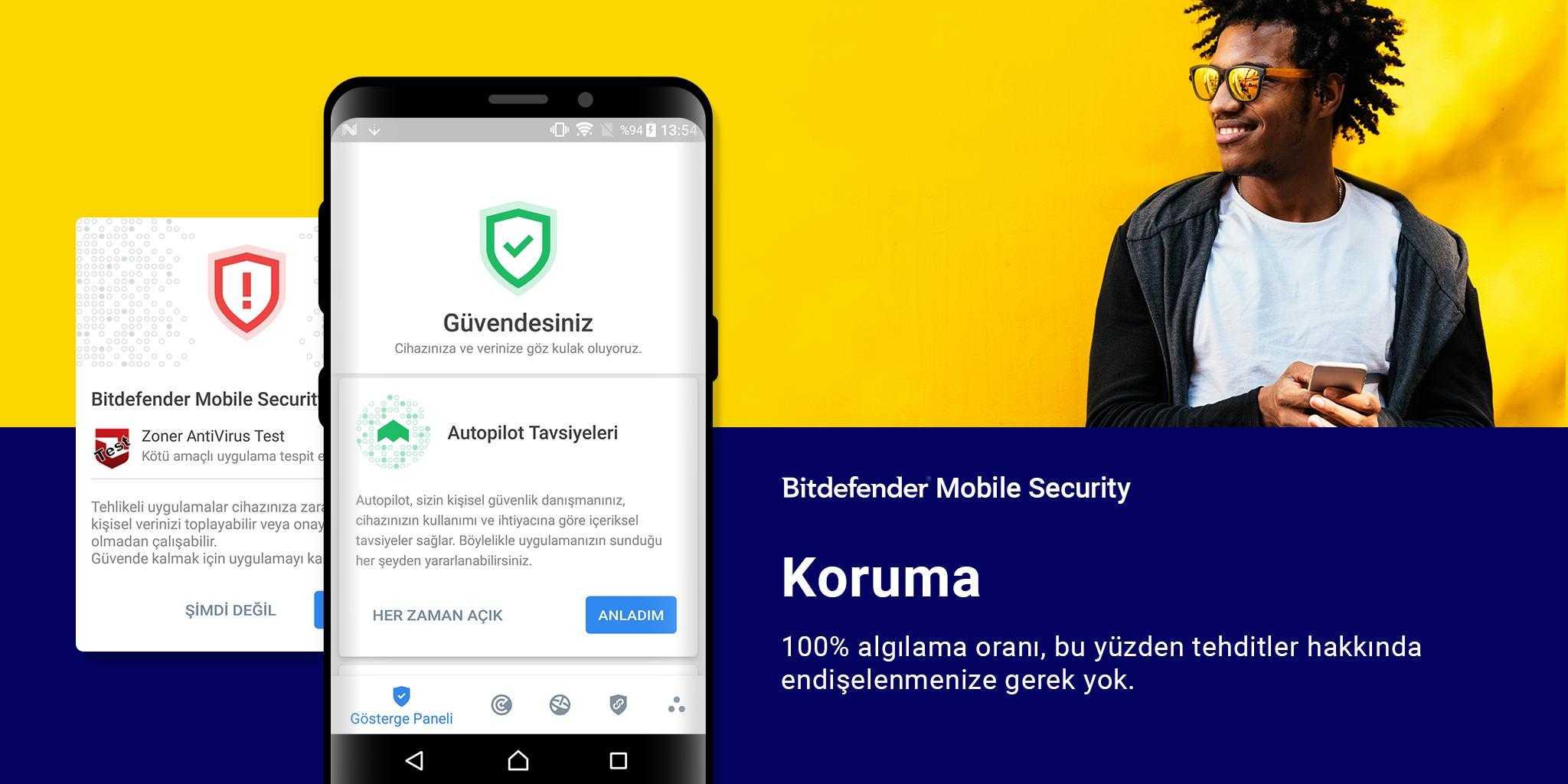 Bitdefender Mobile Security Lisans